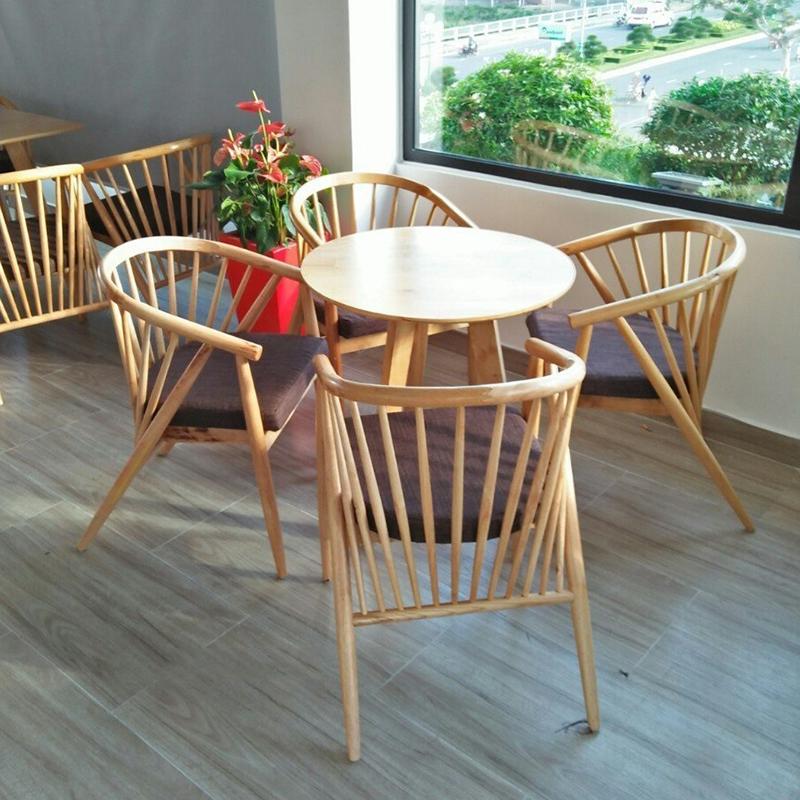 Bộ bàn cà phê ghế genny