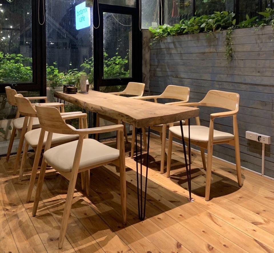 Ghế praha gỗ cao su