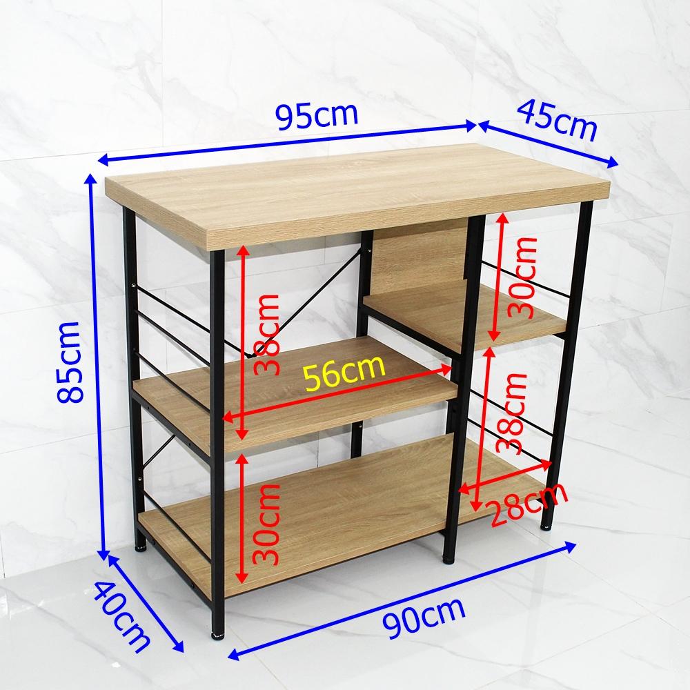 Kích thước kệ 3 tầng
