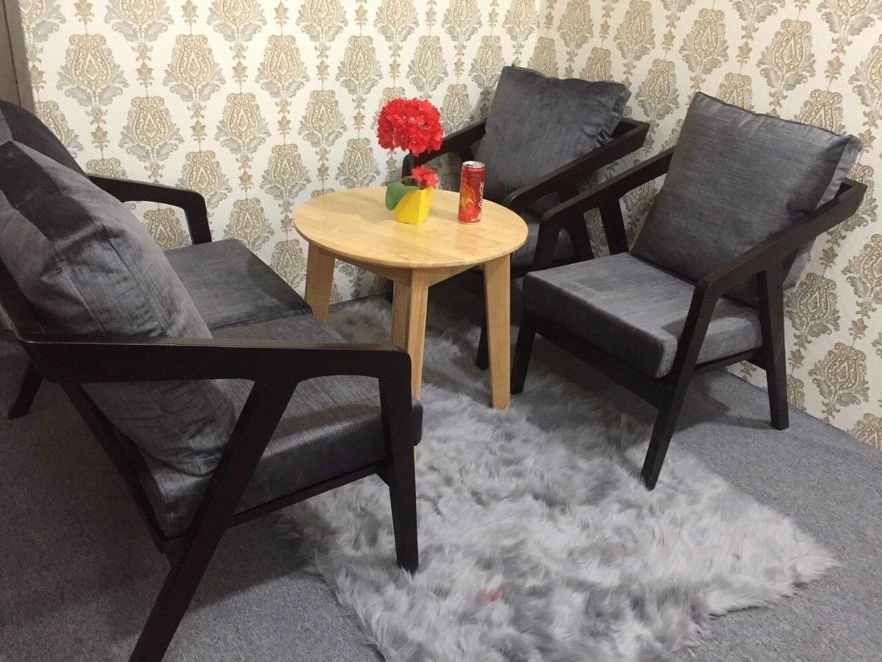 Bộ sofa katakana nệm vải